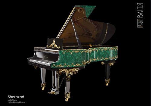 sherazad armonia baldi piatino pianoforti gemstone Steinway & sons