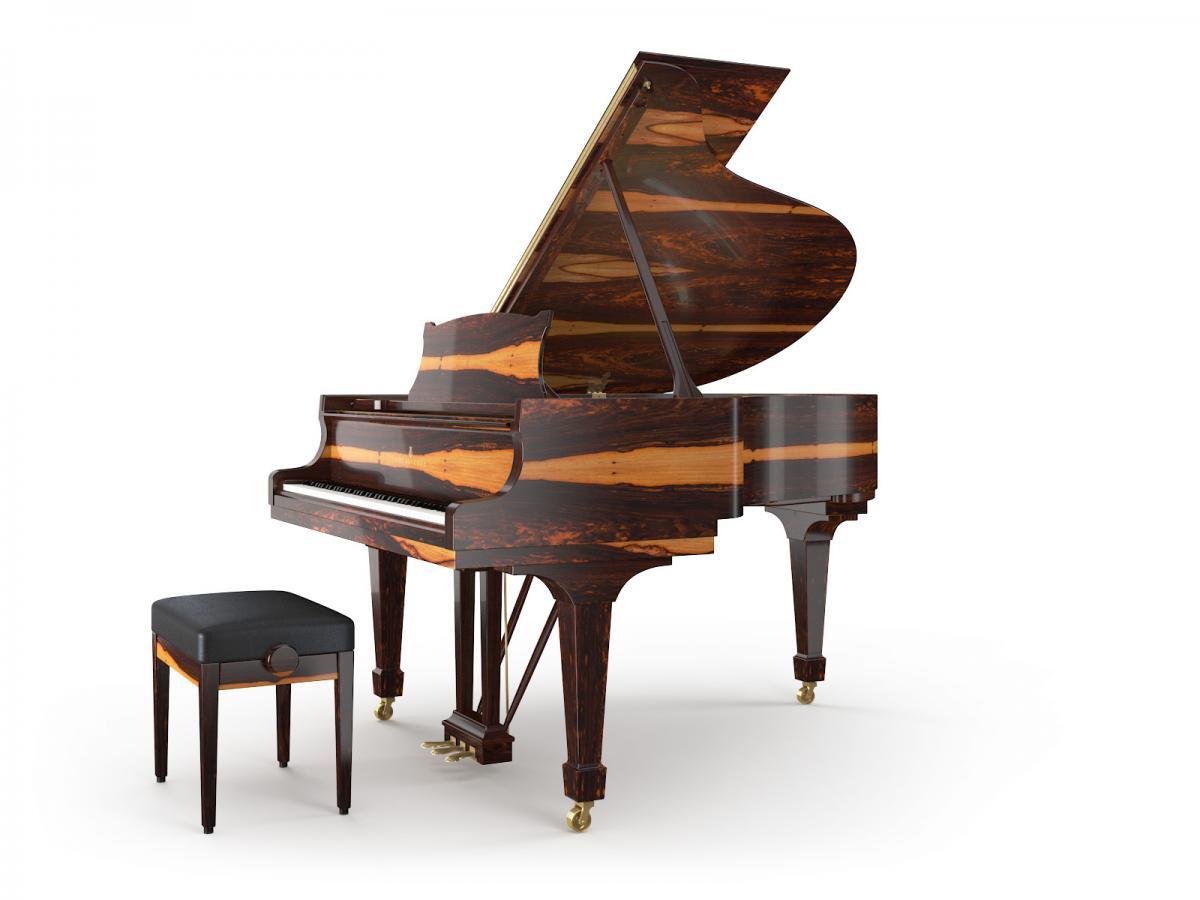 Grand Piano Grenadillo Pearl