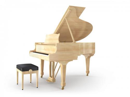 Grand Piano Figured Sycamore