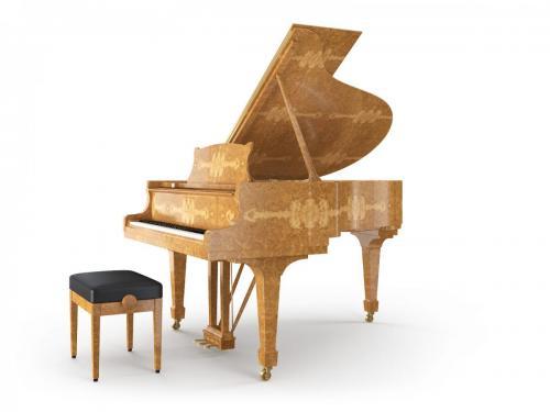 Grand Piano Golden Madrona