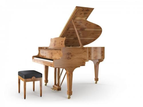Grand Piano Knotty Oak