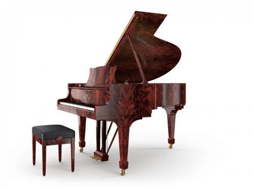 Grand Piano Mahagony Crotch