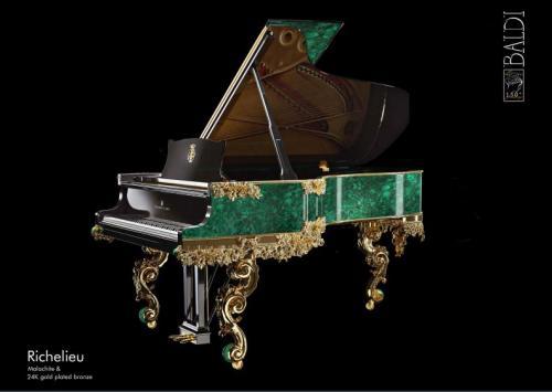 richelieu armonia baldi piatino pianoforti gemstone Steinway & sons